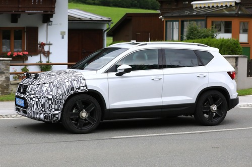 Seat Ateca restyling, le foto spia (2)