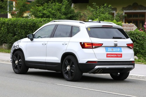 Seat Ateca restyling, le foto spia (8)