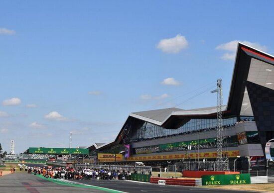 Formula 1: Silverstone in calendario fino al 2024