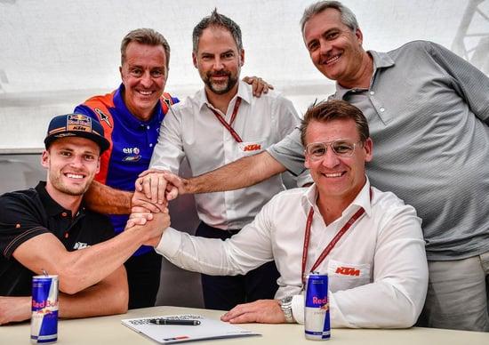 MotoGP, KTM Tech3 dà l'addio a Syahrin: nel 2020 arriva Brad Binder