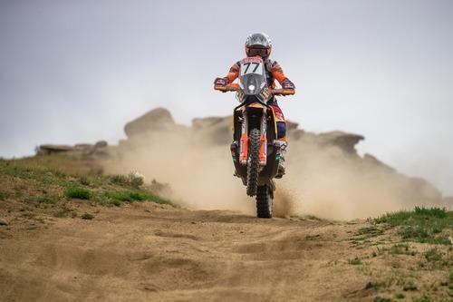 """Silk Way Rally 2019-4. L'Anello di Ulan Bator. Sam """"KTM"""" Sunderland e il solito Al """"Toyota"""" Attiyah (9)"""