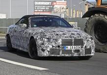 BMW M4 Cabrio: nuovo look e non solo... [Foto spia]