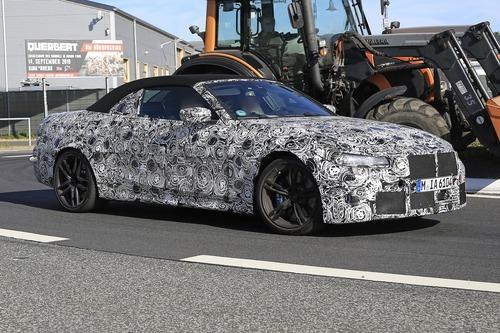 BMW M4 Cabrio: nuovo look e non solo... [Foto spia] (3)
