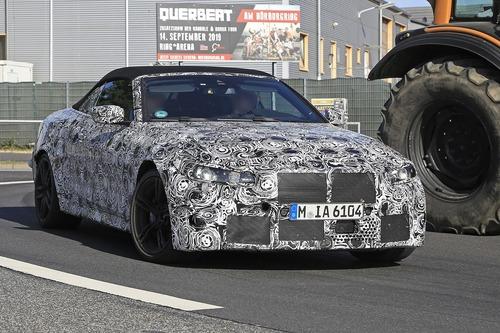 BMW M4 Cabrio: nuovo look e non solo... [Foto spia] (4)