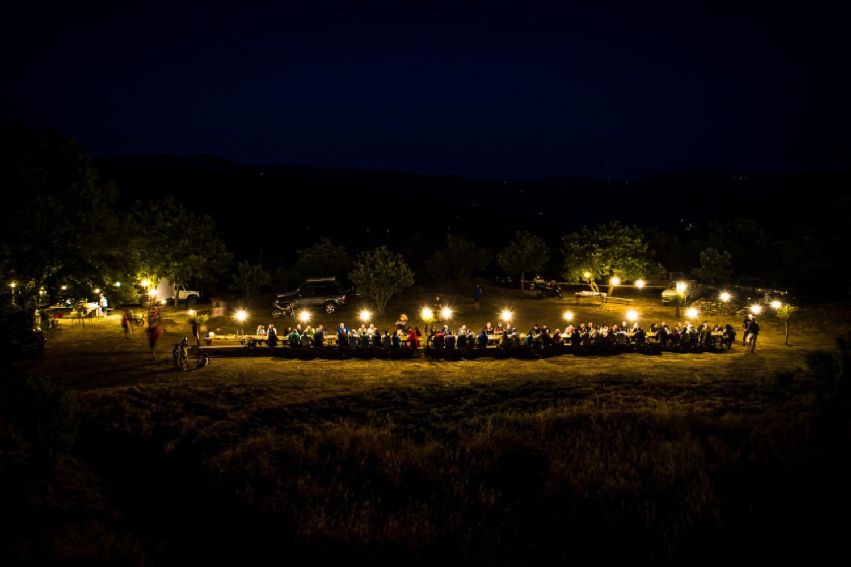 La Cena dei 100. Sul Monte di Castiglion Fiorentino, con Fabrizio Meoni