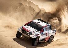Silk Way Rally 2019. Al-Attyah (Toyota), Sunderland (KTM), Shibalov (Kamaz): le Tigri Bianche