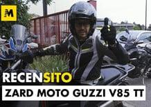 Zard per la Moto Guzzi V85TT. Scarico slip-on. Recensito