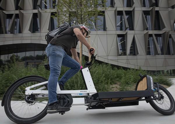 Test. Bergamont E-Cargoville, la rivoluzione delle eBike è cargo