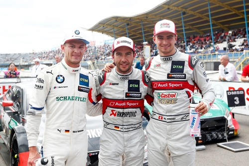 DTM 2019, Rockenfeller celebra ad Assen la sua prima vittoria stagionale
