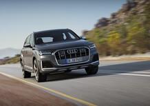 Audi SQ7, svelato il restyling