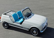 Renault e-Plein Air, la Renault 4 tra passato e futuro