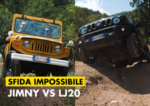 Suzuki LJ20 vs Jimny. La sfida impossibile [Video]