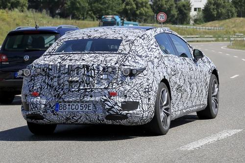 Mercedes EQS, le foto spia  (7)