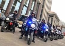 30 Aprilia Mana 850 alla Polizia di Chongqing, in Cina