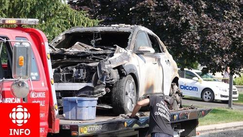 Nuovo SUV elettrico si auto incendia nel box? La batteria non era in carica. Autorità indagano per appurare le cause [foto gallery]