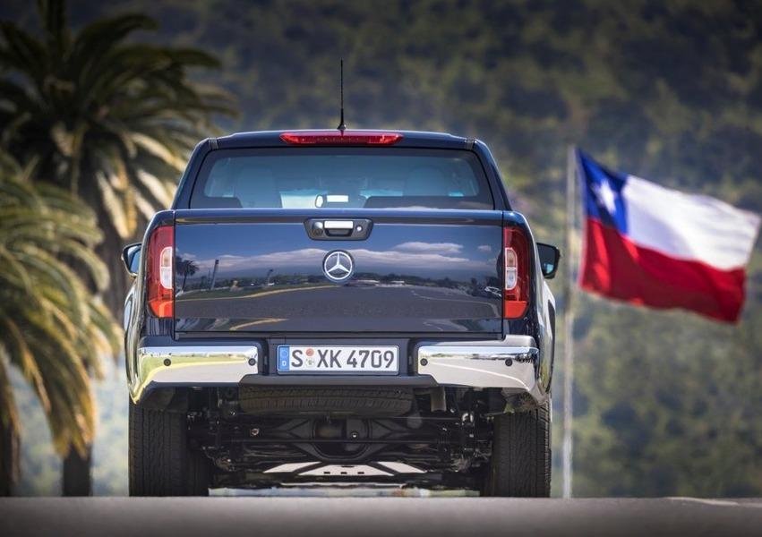 Mercedes-Benz Classe X Pick-up 220 d 4Matic Progressive Business (5)