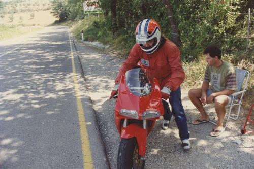 Ducati 916: quella personale di Massimo Tamburini è da ammirare a Bologna (3)