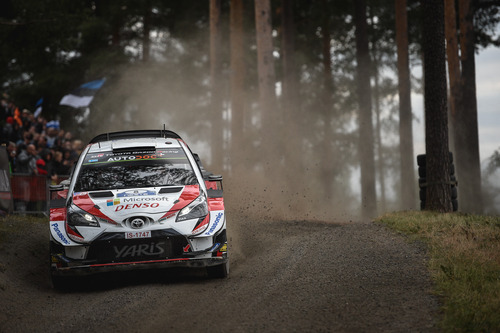 WRC 2019 Finlandia. Il Sabato di Tanak e Toyota