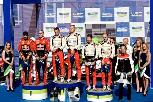 WRC 2019 Finlandia. È Tanak IV, Toyota Yaris WRC (2)