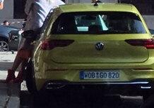 Volkswagen Golf 8 | Prime immagini reali per la VIII di Wolfsburg