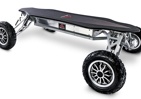 Velox Electric Off-Road: chi lha detto che lo Skateboard non vada in fuoristrada?