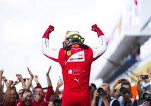 Ferrari porta bene a Mick Schumacher che vince la prima gara F2 pensando a papà [video]