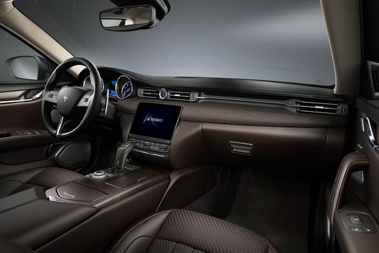 Interni speciali per le edizioni limitate Maserati 2020