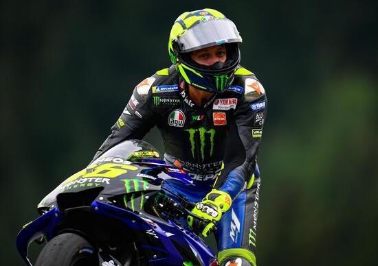 MotoGP 2019 in Austria. Valentino Rossi: Dovizioso? Un campione, più che un bravo pilota
