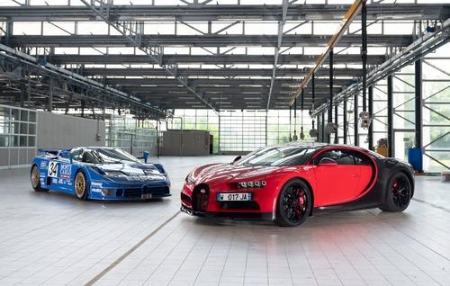 Bugatti EB110 | A Pebble Beach 2019 una concept remake? (2)