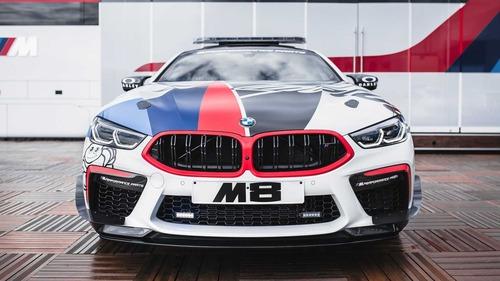 BMW M8 in pista con la MotoGP: i dettagli della Safety Car (3)