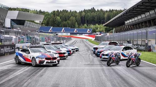 BMW M8 in pista con la MotoGP: i dettagli della Safety Car (6)