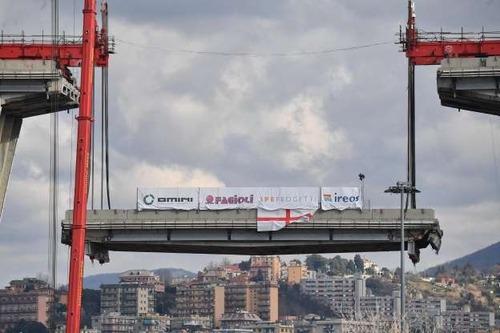 Un anno di Ponte Morandi: cosa è stato fatto dal 2018 ad oggi (2)