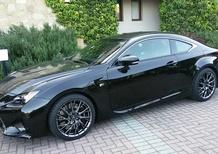 La Lexus RC-F in Italia: da ammirare ma per ora non in vendita