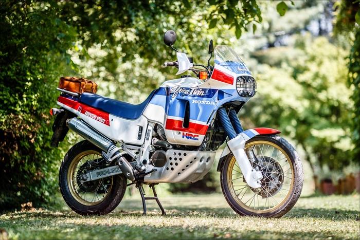 La moto di Alberto Porta è in condizioni perfette