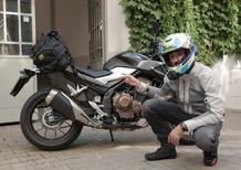 Honda CB500F, in vacanza con… la patente A2. 1/SI PARTE!