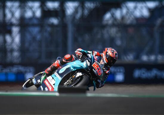 MotoGP 2019 a Silverstone. Fabio Quartararo è il più veloce nelle FP3