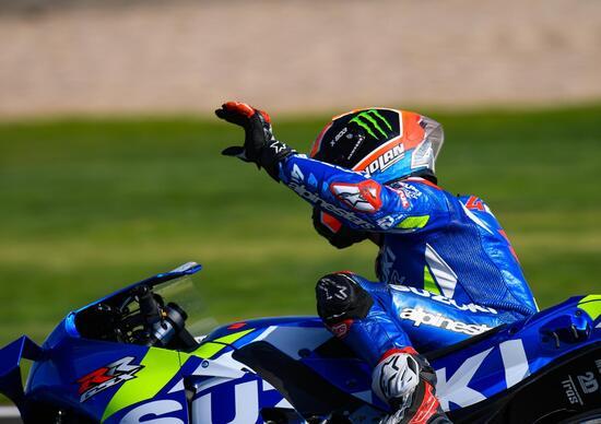 MotoGP 2019 a Silverstone, Alex Rins vince al fotofinish