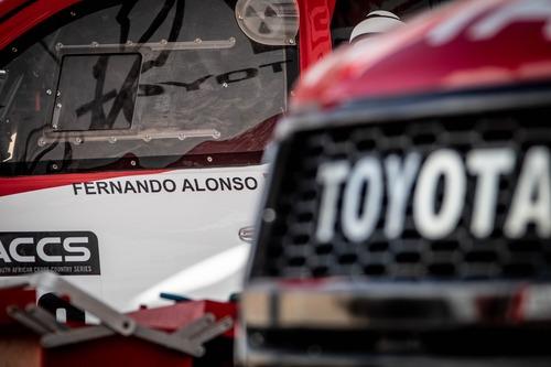 Dakar 2020: Alonso completa i test con Toyota (5)