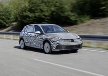 Nuova Volkswagen Golf 8. Più tecnologia, debutto 2020