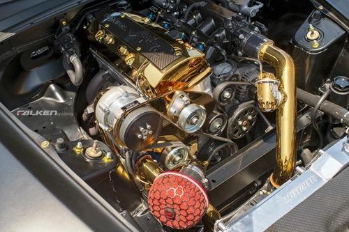 Motori placcati in oro: follie del tuning (8)