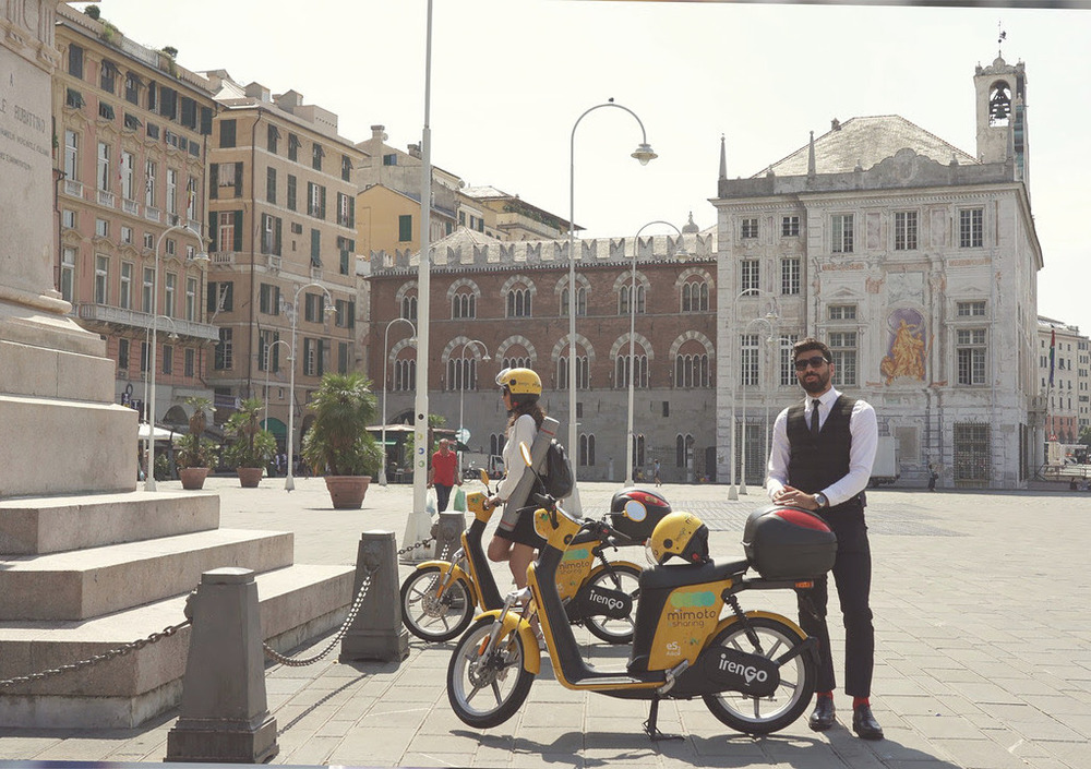 Mimoto, lo scooter sharing sbarca anche a Genova