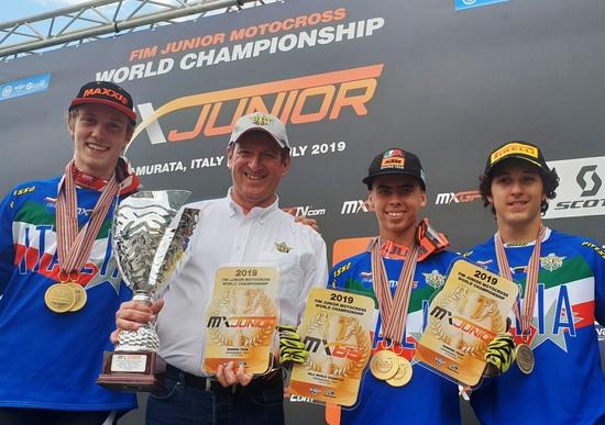 Motocross Junior. Guadagnini e Lata campioni 125 cc e 85 cc