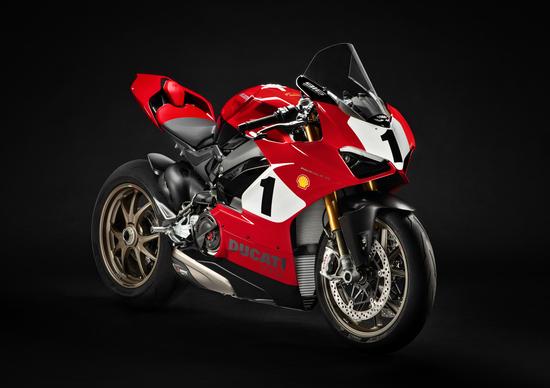 Ducati Panigale V4 25° Anniversario 916 all'asta per Carlin Dunne