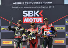 SBK 2019. Álvaro Bautista vince Gara-2 a Portimão