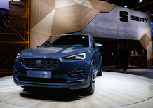 Seat Tarraco, a Francoforte la versione ibrida plug-in [Video]