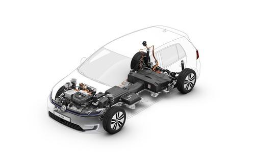 Volkswagen e-Golf al Salone di Francoforte 2019 (8)