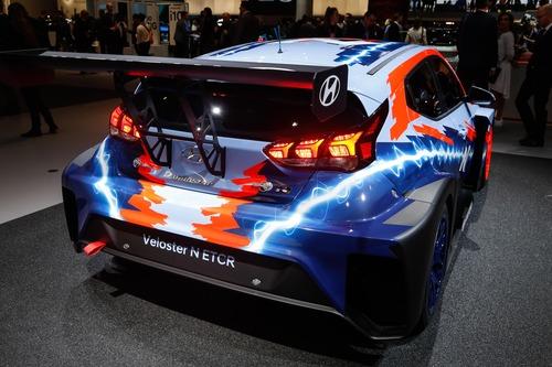 Hyundai Veloster N ETCR, l'elettrica da corsa al Salone di Francoforte 2019 (2)