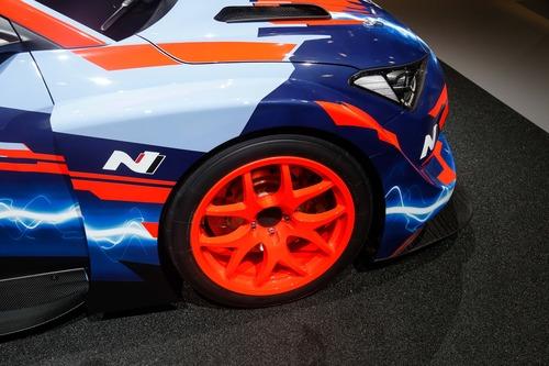 Hyundai Veloster N ETCR, l'elettrica da corsa al Salone di Francoforte 2019 (8)