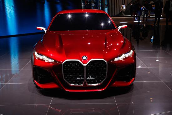 La BMW Concept 4 al Salone di Francoforte 2019