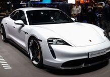 Porsche Taycan, l'era elettrica parte dal Salone di Francoforte 2019